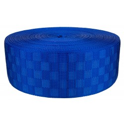 3 Inch Royal Blue Checkerboard Heavy Nylon Webbing Closeout