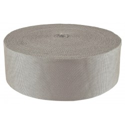 3 Inch Foliage Grey Tubular Nylon Webbing Closeout