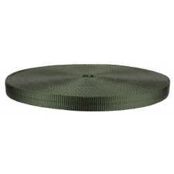 1/2 Inch Olive Drab Green Berry Compliant Tubular Nylon Webbing Closeout