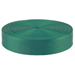 1 1/2 Inch Green Polypro Webbing Closeout