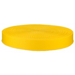 1 Inch Yellow Polypro Webbing Closeout