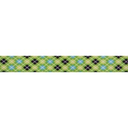5/8 Inch Margarita Argyle Polyester Webbing Closeout