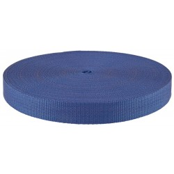 1 Inch Navy Blue Heavy Polypro Webbing Closeout