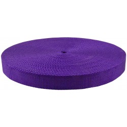 1 Inch Purple Super Heavy Polypro Webbing Closeout