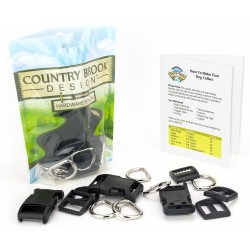 3/4 Inch Deluxe Dog Collar Kit