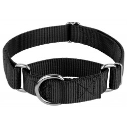10 - 1 1/2 Inch Martingale Heavyduty Nylon Dog Collars - Various Colors & Sizes