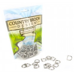 1/2 Inch Die Cast Square Bottom D-Rings
