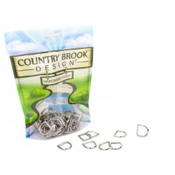 5/8 Inch Die Cast Square Bottom D-Rings