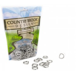 Country Brook Design® 1/2 Inch Welded D-Rings