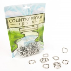 Country Brook Design® 5/8 Inch Welded D-Rings