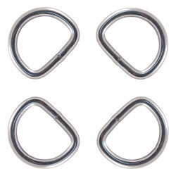 1 Inch Stainless Steel Welded D-Rings