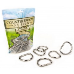 1 1/2 Inch Stainless Steel Welded D-Rings