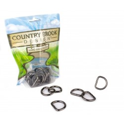 1 Inch Gunmetal Heavy Welded D-Rings