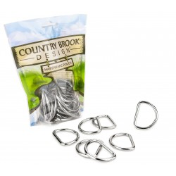 Country Brook Design® 1 1/2 Inch Heavy Welded D-Rings