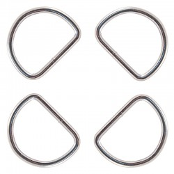 2 Inch Heavy Welded D-Rings