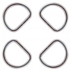 Country Brook Design® 1 1/2 Inch Heavy Duty Welded D-Rings