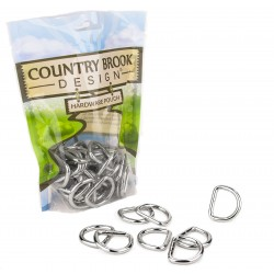 Country Brook Design® American Made 5/8 Inch Welded D-Rings