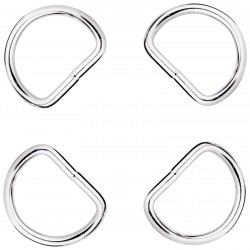1 1/2 Inch Super Heavy Welded D-Rings Closeout