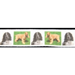 English Cocker Spaniel Cotton Ribbon - Various Lengths & Widths