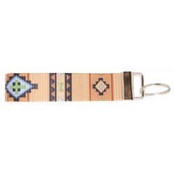 Country Brook Design® Native Southwestern Wristlet Key Fob Keychain