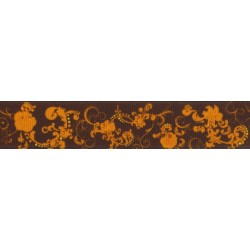 7/8 Inch Seasons of Change Grosgrain Ribbon Closeout, 10 Yards