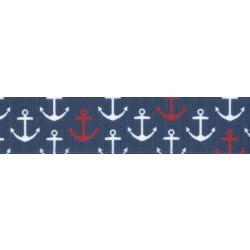 Anchors Away Grosgrain Ribbon