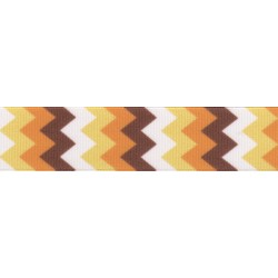 5/8 Inch Allegheny Autumn Grosgrain Ribbon Closeout, 1 Yard