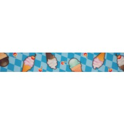 Blue Ice Cream Dream Grosgrain Ribbon