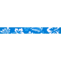Blue Hawaiian Grosgrain Ribbon