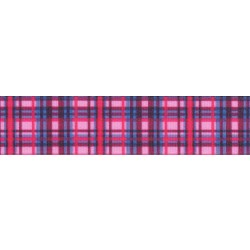 Cotton Candy Plaid Grosgrain Ribbon