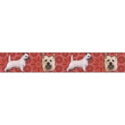 Cairn Terrier Grosgrain Ribbon
