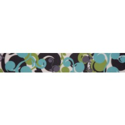 7/8 Inch Fresh Sprouts Grosgrain Ribbon Closeout, 10 Yards