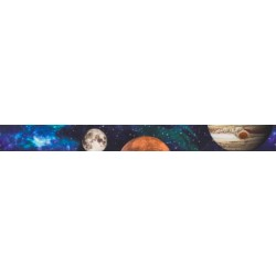Galactic Neighbors Grosgrain Ribbon