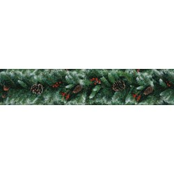 7/8 Inch Garland Grosgrain Ribbon Closeout, 1 Yard