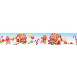 5/8 Inch Gingerbread Iceland Grosgrain Ribbon Closeout, 10 Yards