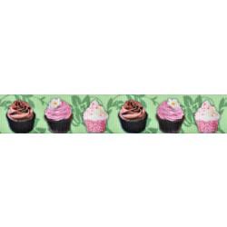 Lime Cupcakes Grosgrain Ribbon