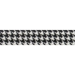 Houndstooth Grosgrain Ribbon