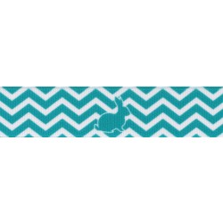 7/8 Inch Hop Along Grosgrain Ribbon Closeout, 5 Yards