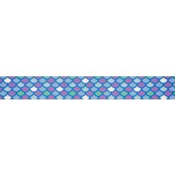 Mermaid Scales Grosgrain Ribbon