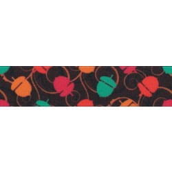 5/8 Inch Going Nuts Grosgrain Ribbon Closeout, 1 Yard