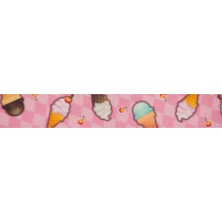 Pink Ice Cream Dream Grosgrain Ribbon