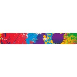 Paint Splatter Grosgrain Ribbon