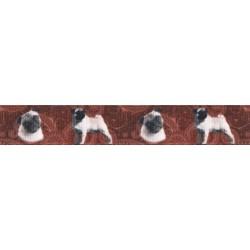 5/8 Inch Pug Grosgrain Ribbon