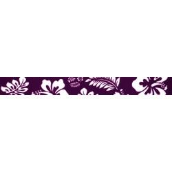 Purple Hawaiian Grosgrain Ribbon