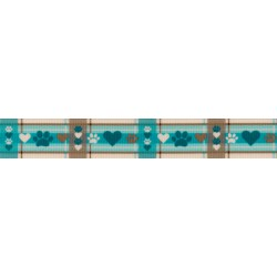 Puppy Picnic Grosgrain Ribbon