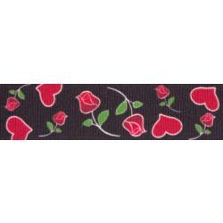 Roses for My Valentine Grosgrain Ribbon