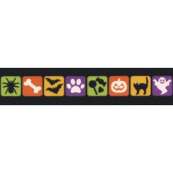 Shadows in the Nite Grosgrain Ribbon