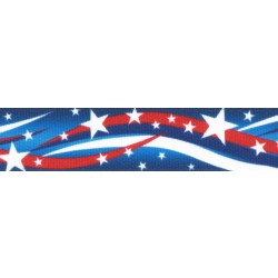 Star Spangled Grosgrain Ribbon
