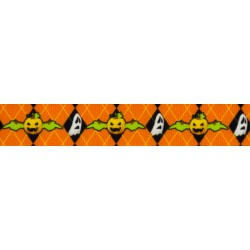 When Pumpkins Fly Grosgrain Ribbon