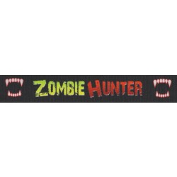 7/8 Inch Zombie Hunter Grosgrain Ribbon